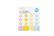 Emoji 4.5 x 4.5 Perforated Paper Pad - WeR