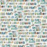 Time To Party Paper - Birthday Boy Wishes - Photoplay