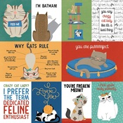 Cats Rule Paper - Whiskers - Photoplay