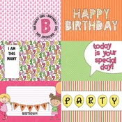 Hip Hip Hooray Paper - Birthday Girl Wishes - Photoplay