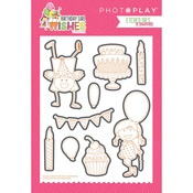 Birthday Girl Wishes Etched Die - Photoplay