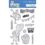 Birthday Boy Wishes Stamp - Photoplay