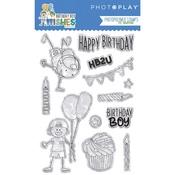 Birthday Boy Wishes Stamp - Photoplay
