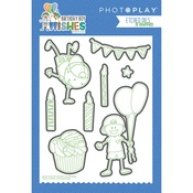 Birthday Boy Wishes Etched Die - Photoplay