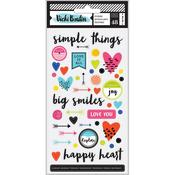 Puffy Stickers - Field Notes - Vicki Boutin