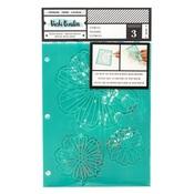 Flutter Stencil - Field Notes - Vicki Boutin