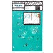 Ink Spill Stencil - Field Notes - Vicki Boutin