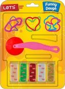 W/Dough Cutter & 6 Shape Cutters - Let's Have Fun Fun Dough Kit 12pcs