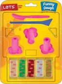 W/2 Spatulas & 3 Extruder Designs - Let's Have Fun Fun Dough Kit 11pcs