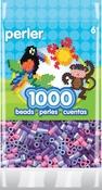 Jewel Tone Purple Mix - Perler Pearl Beads 1,000/Pkg