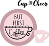 But First Coffee - Sizzix Framelits Die & Stamp Set By Katelyn Lizardi Perfect for making die-cuts, cropping photos, cutting windows in cards, and more! Designed to cut a single sheet of cardstock, paper, metallic foil or vellum, the dies also make great stencils and the stamps look great all on their own! Dies work with Sizzix BigKick, Big Shot, and Vagabond machines (not included). This package contains But First Coffee: a set of six stamps on a 2.25x2.25 inch backing sheet and three metal dies measuring between .75x.5 inches and 2.25x2.25 inches. WARNING: Choking Hazard. Not suitable for children under 3 years. WARNING: May contain items with sharp edges. Handle with care. Imported.