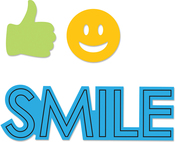 Smile - Sizzix Framelits Die & Stamp Set By Katelyn Lizardi
