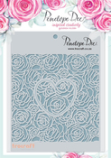 Roses & Hearts - Mother Of Pearl Stencil