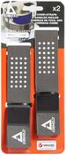 "Gray - Stayhold(TM) Combi Straps .75""X13.5"" 2/Pkg"