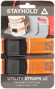 "Orange - Stayhold(TM) Utility Straps 48"" 2/Pkg"