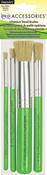 - Americana Premium Stencil Brush Set 4/Pkg