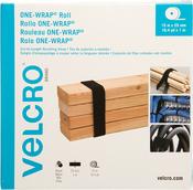 Black - VELCRO(R) Brand ONE-WRAP(R) Roll 25mmX15m