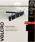 "Black - VELCRO(R) Brand Extreme Outdoor Tape 1""X10'"