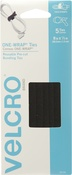 "Black - VELCRO(R) Brand ONE-WRAP(R) Thin Ties .5""X8"" 5/Pkg"