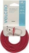 "Red - VELCRO(R) Brand ONE-WRAP(R) .25""X8"" 25/Pkg"