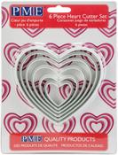Heart - Fondant Cutter Set 6/Pkg