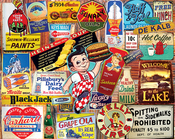 """Vintage Signs - Jigsaw Puzzle 1000 Pieces 24""""X30"""""""