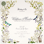 """Wildflower Meadow - Craft Consortium Double-Sided Paper Pad 12""""X12"""" 40/Pkg"""