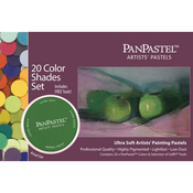 Shades - PanPastel Ultra Soft Artist Pastel Set 9ml 20/Pkg