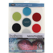 Mixed Media W/Donna Downey #1 - PanPastel Ultra Soft Artist Pastel Set 9ml 7/Pkg