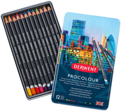 Derwent Procolour Pencils 12/Pkg