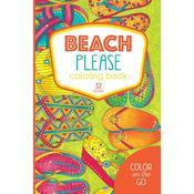 Beach Please Coloring Book - Leisure Arts