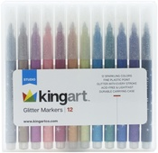 Glitter - Marker Set 12/Pkg