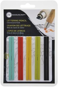 Assorted Colors - Manuscript CalliCreative Flat Lead Refill Set 10/Pkg