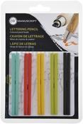 Assorted Colors - Manuscript CalliCreative Round Lead Refill Set 10/Pkg