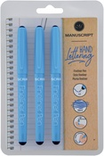 Black Ink - Manuscript Fineliner Pens Triple Pack