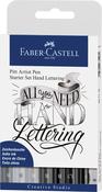 - PITT Artist Pen Starter Set - Hand Lettering 9/Pcs