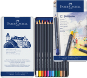 Goldfaber Colored Pencil Set In Metal Tin 12/Pkg