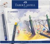 Goldfaber Colored Pencil Set In Metal Tin 24/Pkg
