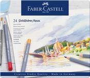 Goldfaber Aqua Watercolor Pencil Set In Metal Tin 24/Pkg