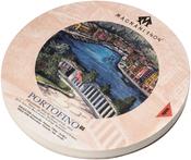 """Magnani Aquarello Portofino Round Water Color Block 6.3"""" - Hot Press"""