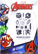 The Avengers - Marvel Avengers Stamp Set