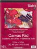 """10 Sheets - Studio 71 Canvas Pad 12""""X16"""""""