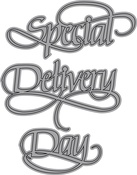 A Way With Words-Special Delivery Day - Elizabeth Craft Metal Die