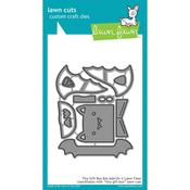 Tiny Gift Box Bat Add-On Die - Lawn Fawn - PRE ORDER