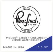 Sapphire - Liquid Watercolor - Pinkfresh