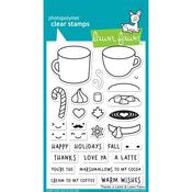 Thanks A Latte Clear Stamp - Lawn Fawn