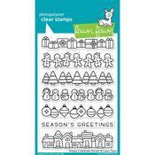 Simply Celebrate Winter Clear Stamps - Lawn Fawn