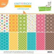 Knit Picky Fall Collection Pack - Lawn Fawn