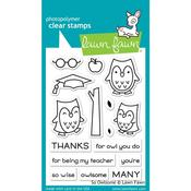 So Owlsome Clear Stamps - Lawn Fawn