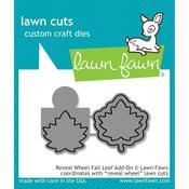 Reveal Wheel Fall Leaf Add-On Craft Die - Lawn Fawn